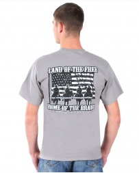 Moss Brothers INC. Men's Home of The Brave Tee