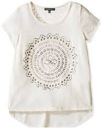 My Michelle® Girls' Short Sleeve Aztec Top