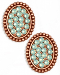 Pink Pananche® Ladies' Mimi Rose Gold Pacific Earrings