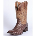 "Stetson® Men's Exotic Square Toe 11"" Boots"