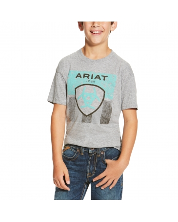 Ariat® Boys' Stars & Stripe Tee