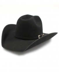 "American Hat Company® 10X 4 1/4"" Bound Edge Self Band Felt Hat"