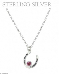 Montana Silversmiths® Ladies' January Birthstone Necklace