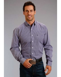 Stetson® Men's Long Sleeve Button Print Shirt