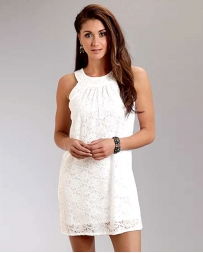 Stetson® Ladies' Optic White Lace Dress