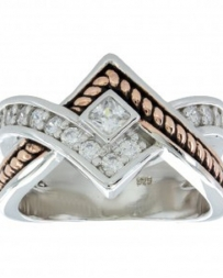 Montana Silversmiths® Ladies' Twisted Band Ring