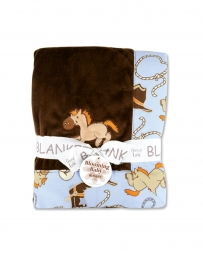 Cowboy Baby Receiving Blanket