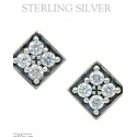 Montana Silversmiths® Ladies' Mosaic Post Earrings