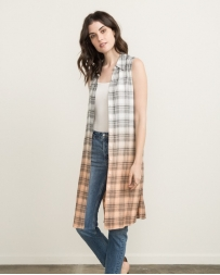 Mystree® Ladies' Dipdye Plaid Dress Or Jacket