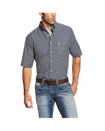 Ariat® Men's Midfield Short Sleeve Performance Shirt - Big & Tall