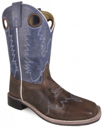 Smoky Mountain® Boots Brown & Blue Crackle Boots - Child