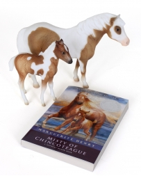 Breyer® Misty of Chincoteague & Her Foal Stormy - Model and Book Set