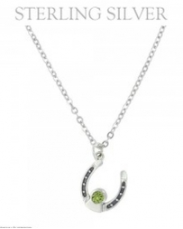 Montana Silversmiths® Ladies' August Birthstone Necklace