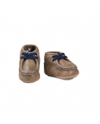 Baby Buckers® Infant Blue Mocs