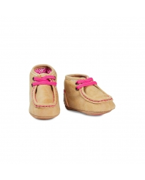 Baby Buckers® Infant Pink Mocs