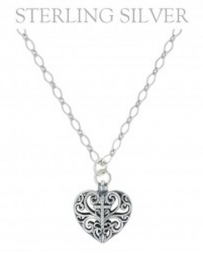 Montana Silversmiths® Ladies' Cross My Heart Necklace