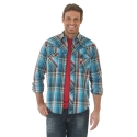 Wrangler® Men's Long Sleeve Western Shirt - Tall