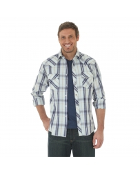 Wrangler® Men's Long Sleeve Snap Front Shirt - Big & Tall