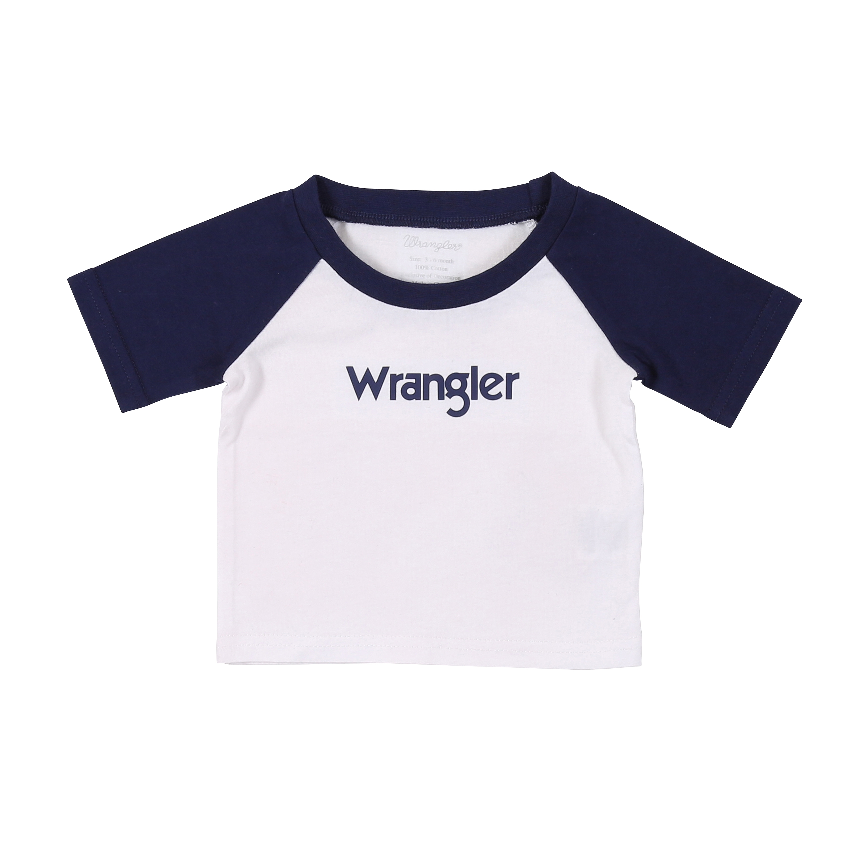All Around Baby by Wrangler Boys Logo Tee Fort Brands