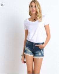 Younique® Ladies' Bottom Lace Shorts