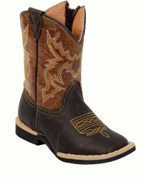 Tanner Mark Boots® Kids' Infant Chocolate Coganc Boots