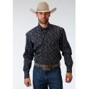 Roper® Men's Long Sleeve Button Print Shirt