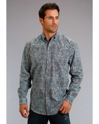 Stetson® Men's Paisley Print Long Sleeve Shirt
