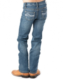 Cowgirl Tuff® Girls' Don't Fence Me In Jeans
