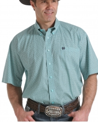 Cinch® Men's Short Sleeve Plaid Shirt