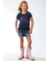Roper® Girls' Lucky Charm Tee