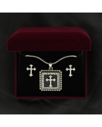 Lightning Ridge Cross Necklace Set