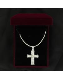 Lightning Ridge Cross Necklace