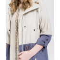Blu Pepper Ladies' Curvy Cargo Jacket