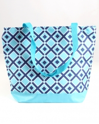 C & K Import Designs® Blue Diamond Tote