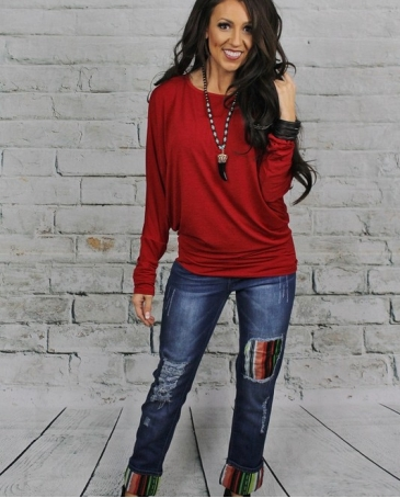 Just 1 Time® Ladies' Lucky Blessed Crop Jeans
