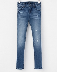 Miss Me® Girls' Ankle Skinny Jeans