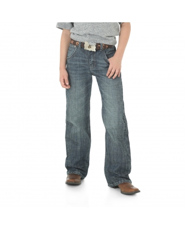 Wrangler® 20X® Boys' Kingston No. 42 Vintage Boot Jeans - 8-18