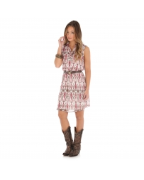 Wrangler® Ladies' Western Print Sleeveless Dress