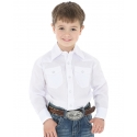 Wrangler® Boys' White 4-H Shirt