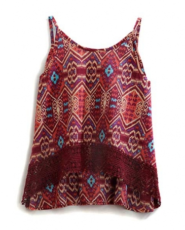 Tin Haul® Ladies' Diamond Aztec Tank