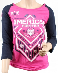 American Fighter Ladies' North Dakota Side Raglan