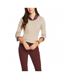 Ariat® Ladies' Merino Wool Supimo Cable Knit