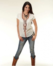 Roper® Ladies' Splash Of Color Tee