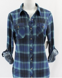 Just 1 Time® Ladies' COA Plaid Shirt