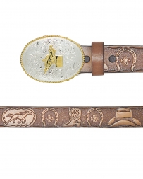 3D® Tooled Best Of The West Youth Rodeo Belts