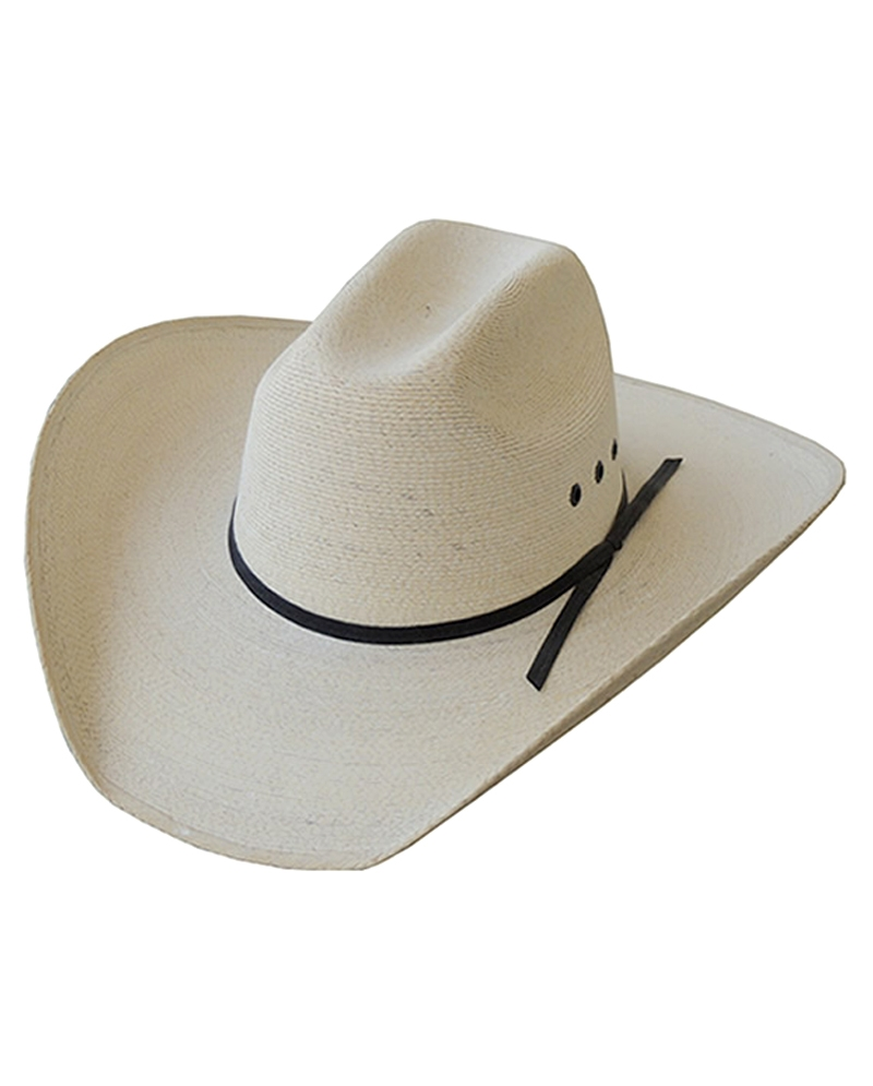 8845c0c0c6e Dallas Hats® Cattleman Extra Fine White Palm Hat - Fort Brands