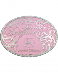 Montana Silversmiths® Ladies' John Deere Farmers Daughter Buckle