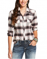 Ariat® Ladies' Teton Plaid Flannel Shirt