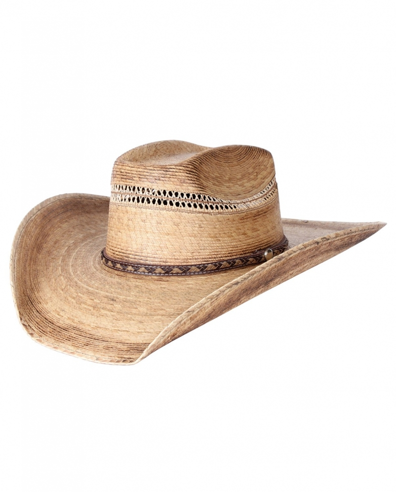 e86687f03d772 Dallas Hats® 8 Seconds Rider Palm Leaf Hat - Fort Brands