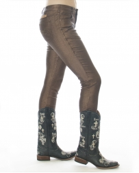 Cowgirl Tuff® Ladies' Shimmer Straight Leg